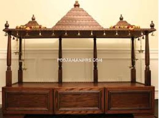Pooja Stand Designs Images : Pooja room designs kerala style interiors