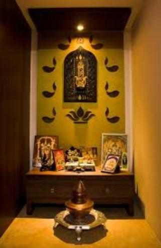 Pooja Room Designs Kerala Style Pooja Room Interiors Doors Images