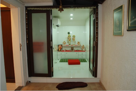 Pooja Room Door Design Part 13