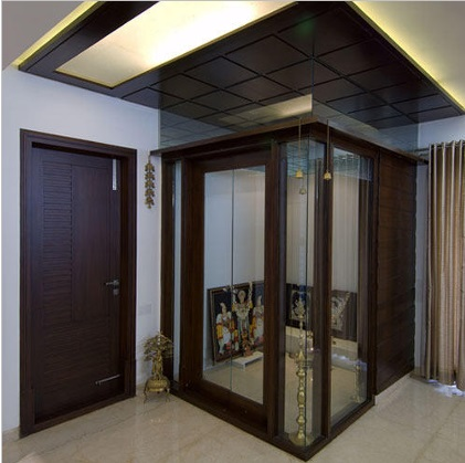 Pooja Room Glass Door Designs Images Pooja Room Doors In Glass