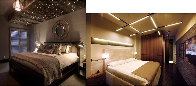 Wonderful Bedroom Ceiling Design With Lights