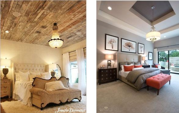 Bedroom Ceiling Design With Chandeliers