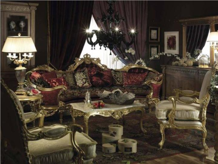 A Royal Style Living Room