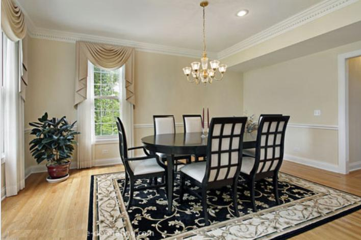 dining room rugs ideas how to choose an area rug for dining room