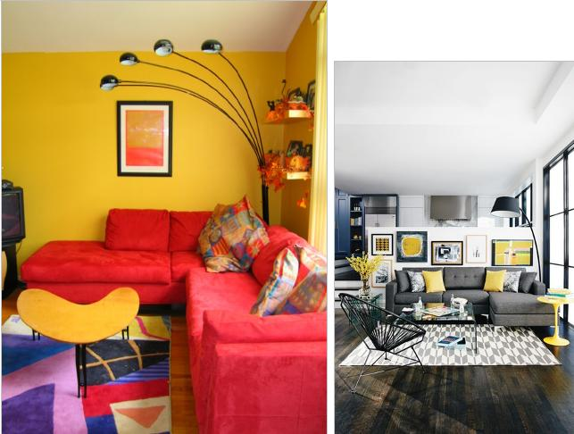 Living Room Yellow Color Scheme Ideas Yellow Color Living Rooms Designs
