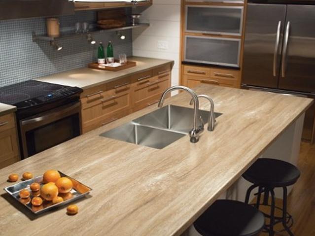 Plastic Laminate Countertops : Best Kitchen Countertop Types, Kitchen Countertops Comparison ...