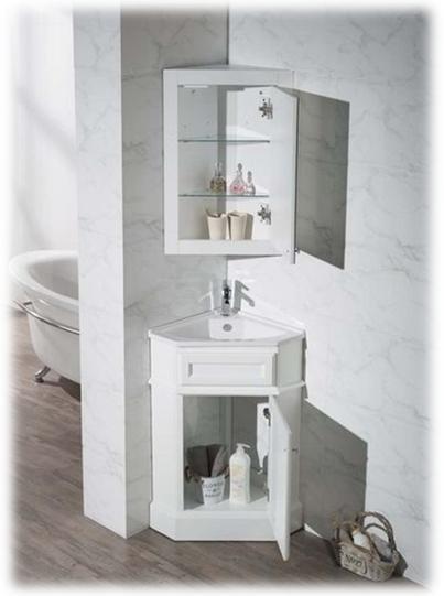20 Corner Cabinets To Make A Clutter Free Bathroom Space: Interior Design, Decor Trends