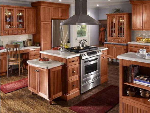 Amercian Kitchen Design Ideas American Style Kitchens Gallery