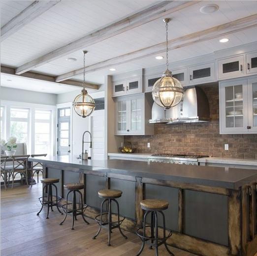 Amercian Kitchen Design Ideas, American Style Kitchens