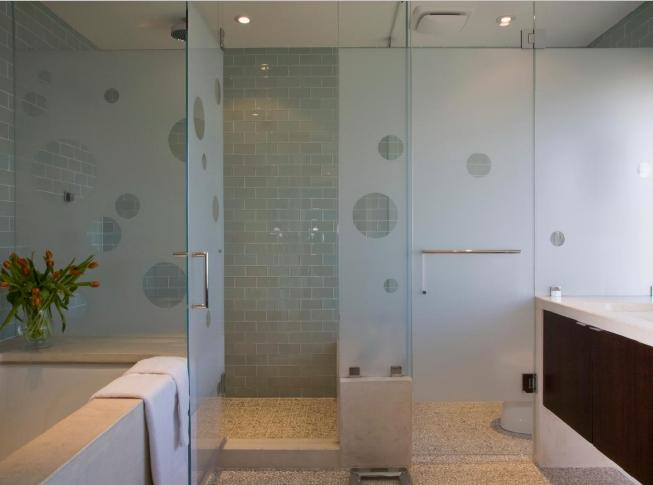Frosted Glass Partition Designs for Bathrooms, Frosted ...
