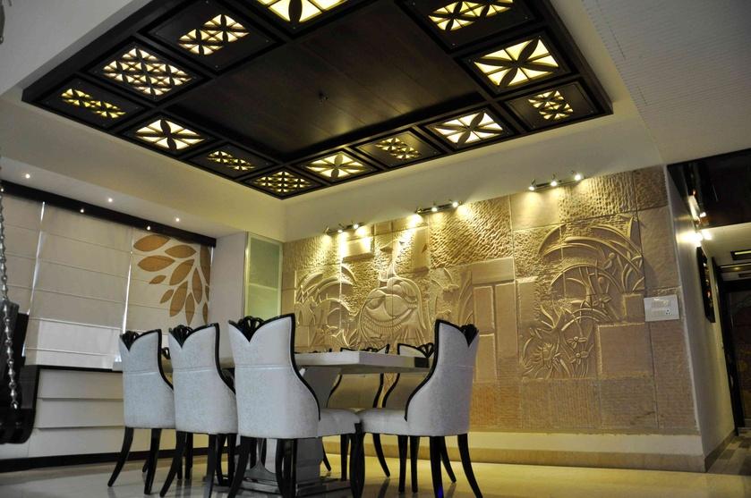 Dining room wallpaper designs dining room wall paper for Wall designs for dining area