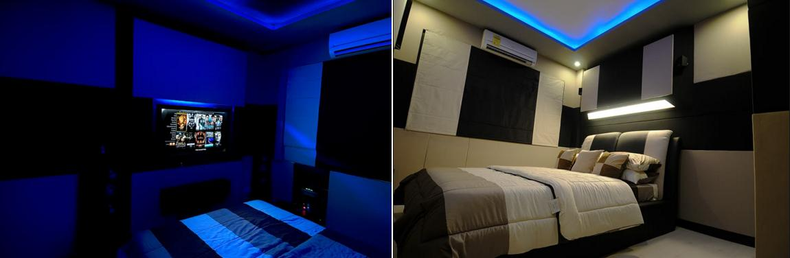 Bedroom home theater design ideas home theater interior designs Home theater bedroom design ideas