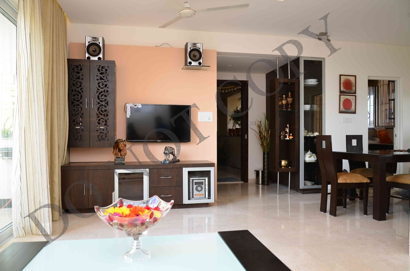 3 bhk flat by sarita mehta interior designer in india for 3 room flat interior design