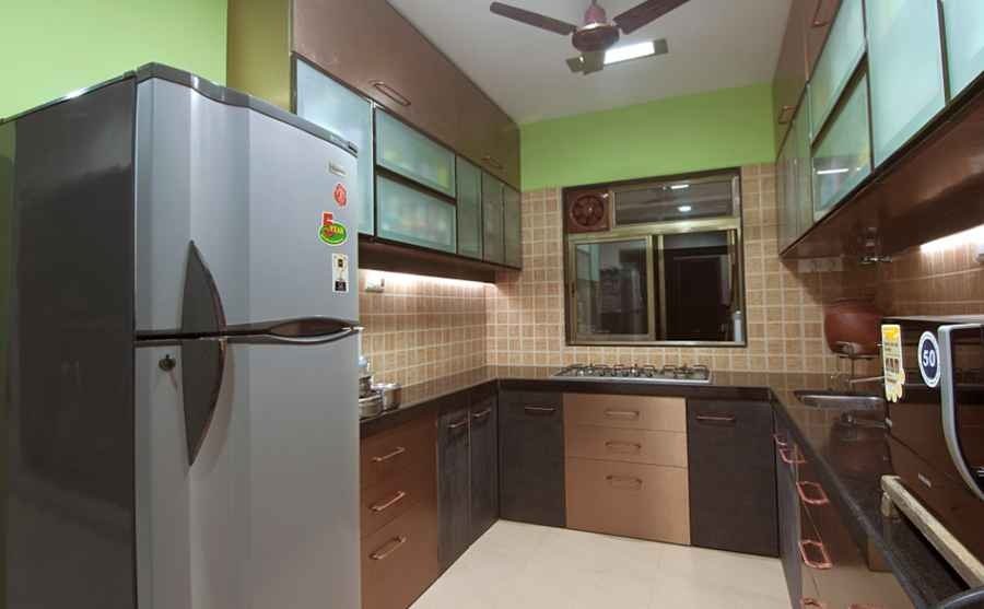 Aniket viswasrao residence by rajiv garg interior designer in mumbai maharashtra india Kitchen design mumbai pictures