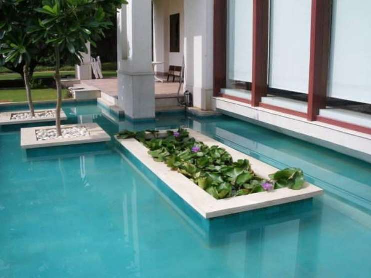 Nanda Farm, Pool Design