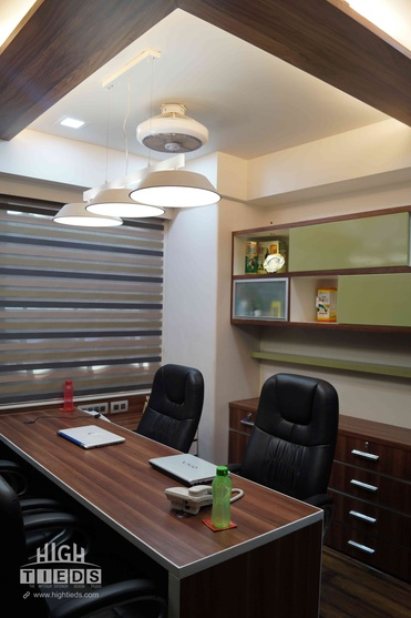 1100 Square Feet Corporate Office Interior Design Project At Venus Amadeus Satellite Ahmedabad