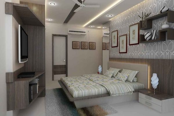 Bedroom Design by: Mahendra Jadeja