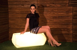 Illuminated Seater Piero - L