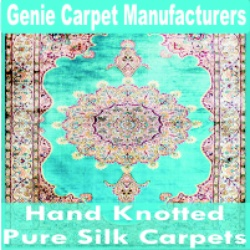 Hand Knotted Pure Silk Carpets