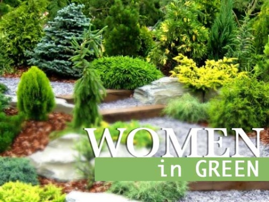 Women in Green, Image Source: feedinspiration.com