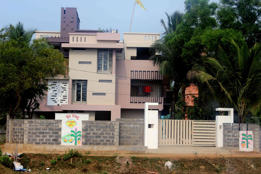 Pattern residence balesore odisha by chinmay mohanta for Architecture design for home in odisha