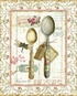 Rose Garden Utensils II Poster