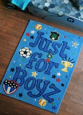 Jfb & Jfg Rugs for Children's Rooms