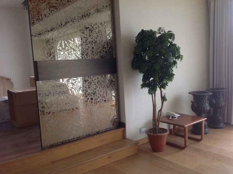 inside planter