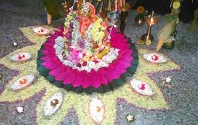 Ganesh Chaturthi Home Decorations