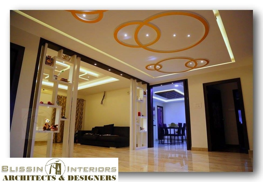 3 bhk luxury apartment in hyderabad by blissin interiors for Foyer designs for apartments india