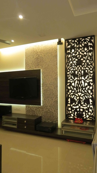 2bhk flat by priyanka jadhav interior designer in navi mumbai maharashtra india. Black Bedroom Furniture Sets. Home Design Ideas