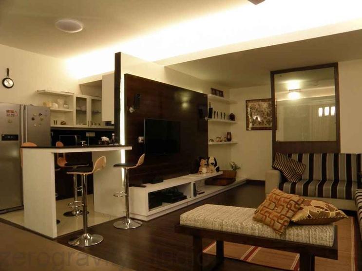 Deshpande residence by zerogravitystudio interior for Living room ideas vastu