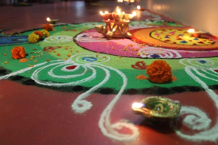 Door, Entrance, House entrance, Rangoli, Decoration, Diwali Colors