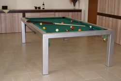 stainless steel billard table,steel pool billard table