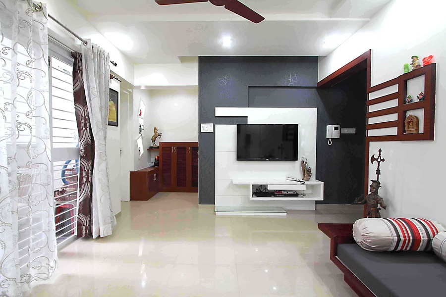 3 bhk interior design in pune by designaddict interior for 1 bhk living room interior