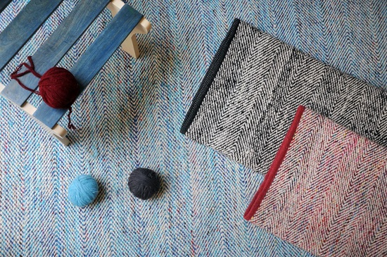 Traverse Recycled Wool, Polyster Rugs