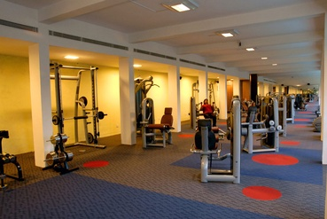 Large Gym Area at Health Club and Spa