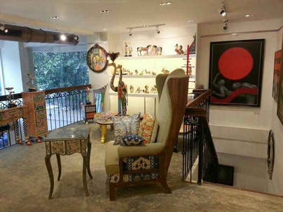 Furniture and Accessories Display