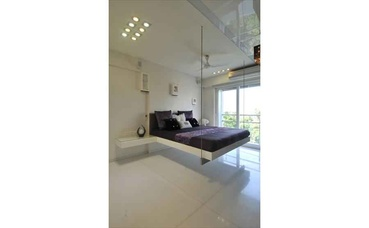 White Bedroom with Minimal bed