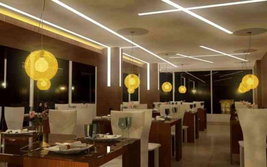 Larica restaurant by suman chakraborty interior designer