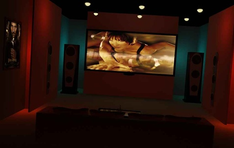 Residence, home theater designs