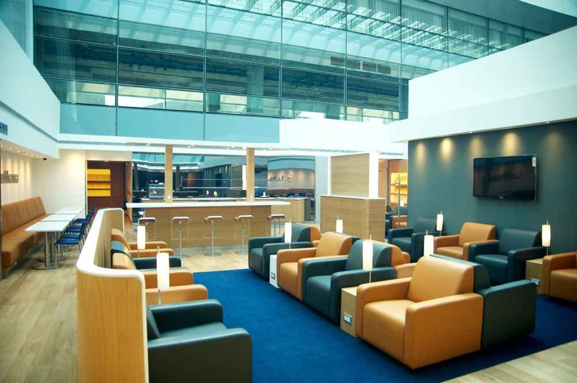 Lounge Interiors For Lufthansa T3 DIAL In Delhi