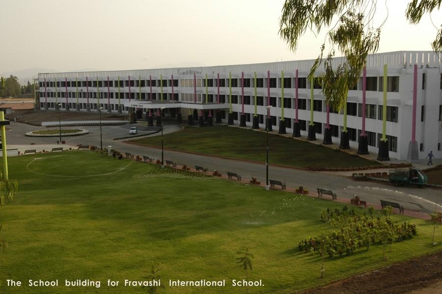 fravashi international school by dhananjay shinde  architect in nashik  maharashtra  india