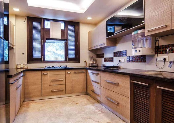 Kitchen Designed by: Rohit Mitra