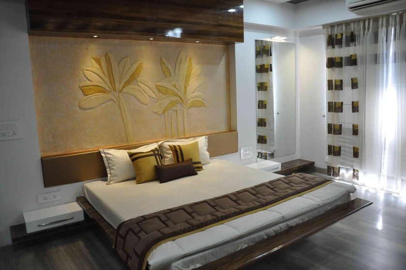 Sunheart group by rajni patel interior designer in for Master bedroom wardrobe designs india