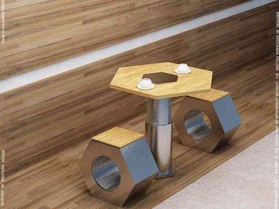 Nut & Bolt coffee table