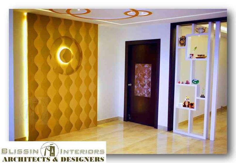3 BHK Luxury Apartment In Hyderabad By Blissin Interiors