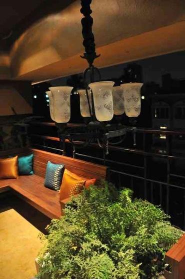 Outdoor Dining Area Idea, India