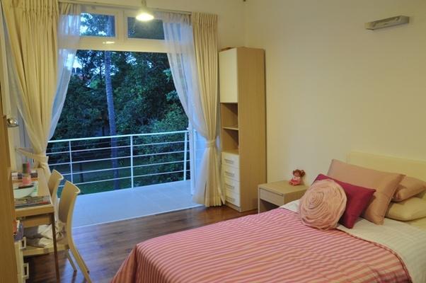 bedroom with balcony design by ar channa horombuwa - Bedroom Balcony Designs