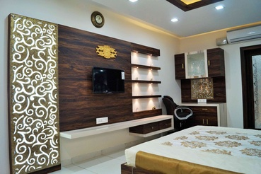 Wonderful Master Bedroom Designs India With Mirror Design By